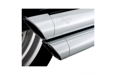 Vance & Hines Big Shots Staggered Chrome Exhaust - 17938