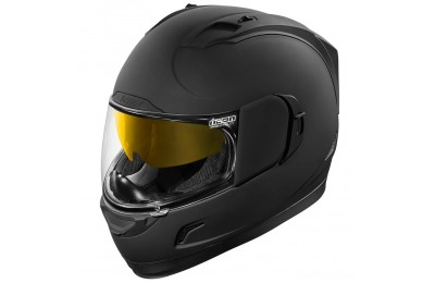 ICON Alliance GT Rubatone Black Full Face Helmet - 0101-8856