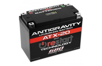 Antigravity RE-START Lithium Ion Battery - AG-ATX20-RS