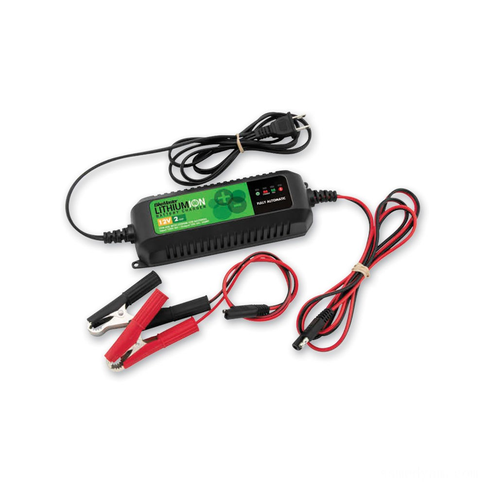 BikeMaster Lithium-Ion Battery Charger/Maintainer - TS0207A